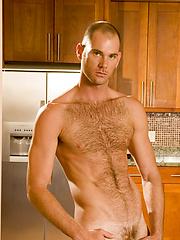 Hairy bear rides hard love-tool