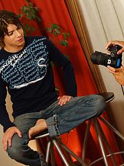 Gay photographer slams model's ass