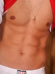 Hot czech twink boy posing naked