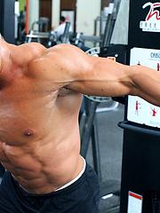 26 year old New York bodybuilder Nick Zack