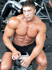 26 year old New York bodybuilder Nick Zack