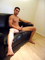 Miami latino boy Rocco stripping and jacking off