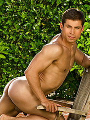 Muscle stud outdoors