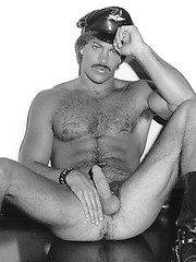 Vinage pics of a hot hairy hunk