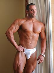 Sexy strong model Gordon Burke