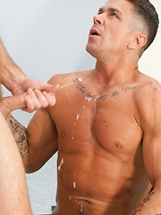 Trenton Ducati recieving huge load from Dean Flynn