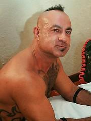 Hot Brazilian Pablo Paris bends over and raises his legs for loads