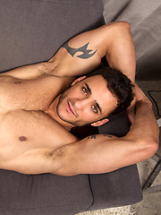 Rocco is a sexy, flirty, Latin guy with beautiful eyes and a hot, muscular build
