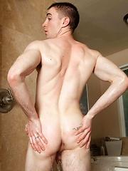 Jed Atkinson strokes dick