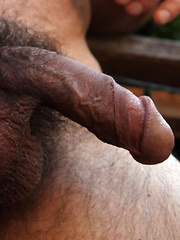 Evan Scott might be a pint size muscle bear but with his sexy furry chest and huge cock