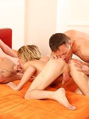 Miro Gody, Greorge Roy and Denis Klein