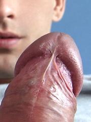 Big cocked boy masturbates