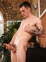Daniel James And His Big, Juicy, Uncircumcised Dick