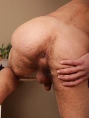 Well hung stud Daniel Lucas blows his huge load.