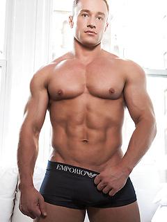 gay porn model Alexander Volkov